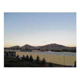 Montañas de San Luis Obispo de las colinas irlande Tarjeta Postal