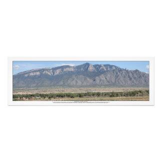 Montañas de Sandia en Bernalillo New México Foto