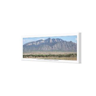 Montañas de Sandia en Bernalillo New México Impresión En Lienzo