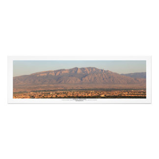 Montañas de Sandia en Bernalillo New México Impresiones Fotográficas