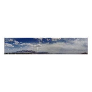 Montañas de Sandia panorámicas Póster