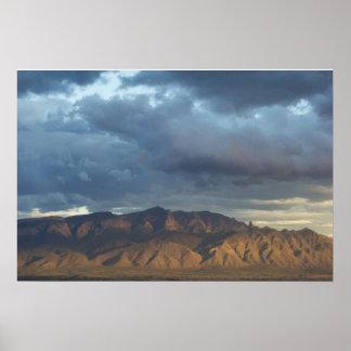 Montañas de Sandia Póster