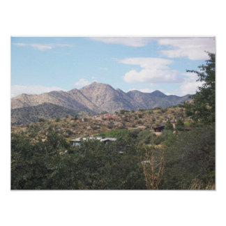 Montañas de Sandia Poster