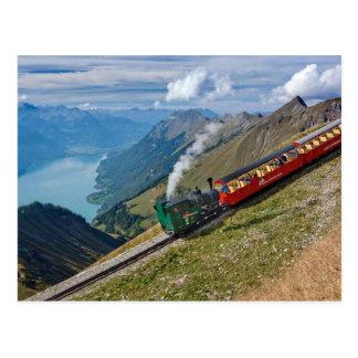 Montañas de Suiza Postal