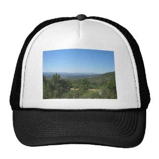 Montañas del verano gorras de camionero