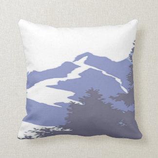 Montañas rocosas cojín decorativo