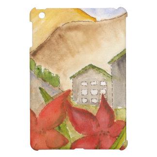 Montañas y flores