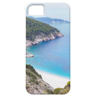 Montañas y mar en la bahía griega funda para iPhone SE/5/5s