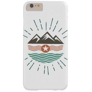 Montañas y océano funda barely there iPhone 6 plus