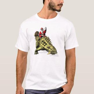 Montar a caballo de Papá Noel en Talarurus Camiseta