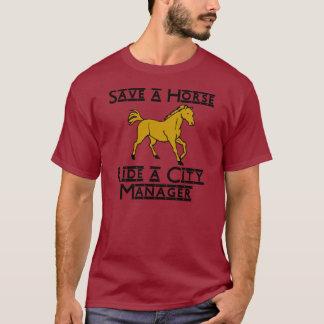 monte a un administrador municipal camiseta