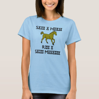 monte a un encargado de ventas camiseta
