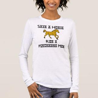 monte un mgr de compra camiseta de manga larga