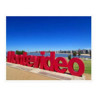 Montevideo brillante postal