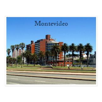 Montevideo Rambla Postal