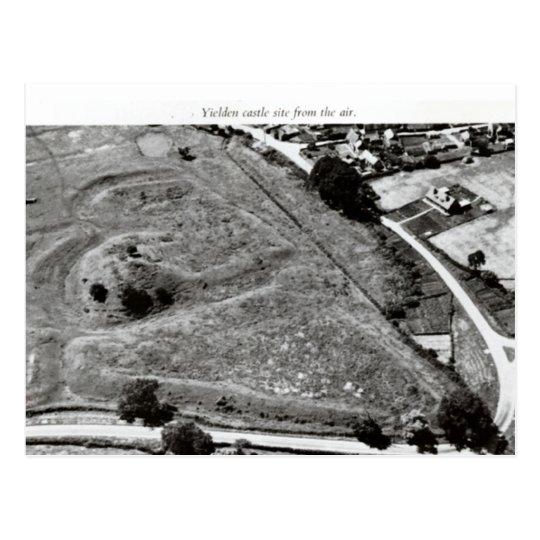 Montón del castillo de Yelden Postal