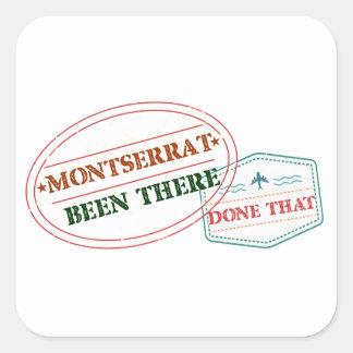 Montserrat allí hecho eso pegatina cuadrada