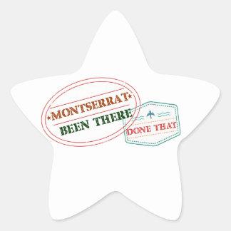 Montserrat allí hecho eso pegatina en forma de estrella