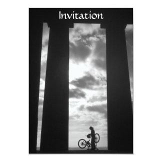Monumento de Penshaw con la invitación del Invitación 12,7 X 17,8 Cm