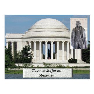 Monumento de Thomas Jefferson - postal