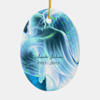 Monumento del ángel azul - ornamento