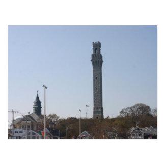 Monumento del peregrino - Provincetown, mA Postal