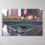 Monumento del punto cero 911 póster