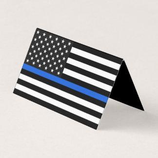 Monumento fino de la bandera americana de Blue Tarjeta