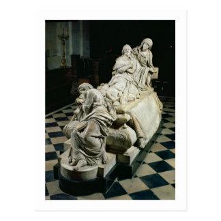 Monumento fúnebre a Armand-Jean du Plessis, Cardin Postal