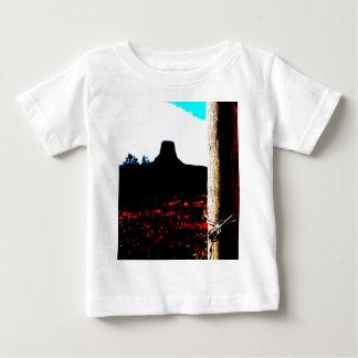 Monumento nacional de la torre de los diablos camiseta de bebé