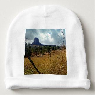 Monumento nacional Wyoming de la torre de los Gorrito Para Bebe