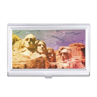 Monumento presidencial 1974 del monte Rushmore Cajas De Tarjetas De Negocios
