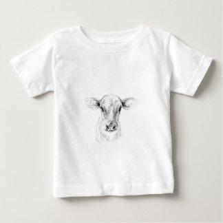 MOO una vaca joven del jersey