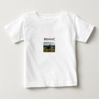 ¡Moooo! - Camiseta de Childs del diseño de la vaca
