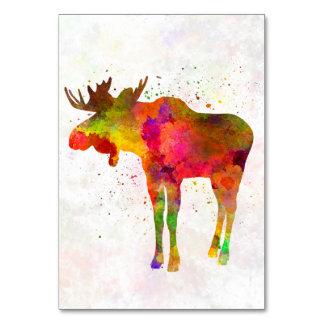 Moose 03 in watercolor