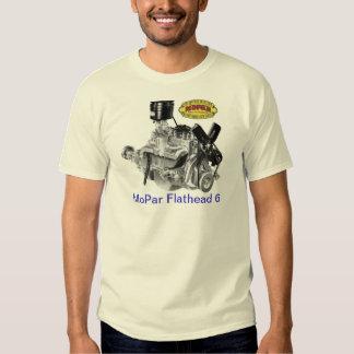 MoPar 6 de cabeza llana Camisas