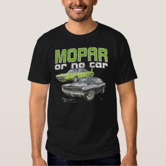 MOPAR o ningún coche - 68 cargador R/T y 70 Camiseta