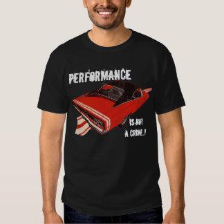 Mopar - performance Is miseria a Crime Camiseta