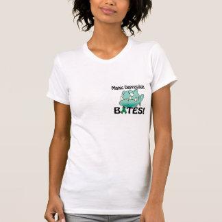 MORDEDURAS de la depresión maníaca Camisetas
