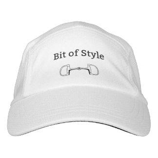 Mordido de la gorra de béisbol del estilo gorra de alto rendimiento