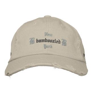 Moreno del casquillo del béisbol de los hombres en gorras de beisbol bordadas