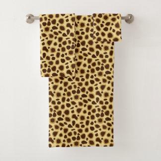 Moreno del estampado leopardo, marrón y del