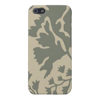 Moreno y Camo militar gris iPhone 5 Fundas