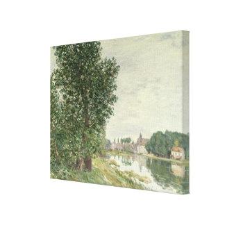 Moret-sur-Loing, 1892 (aceite en lona) Impresion En Lona