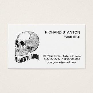 Mori del recuerdo tarjeta de visita