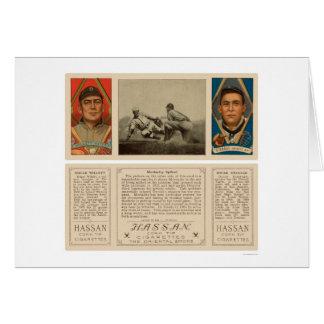 Moriarty clavó el béisbol 1912 de los tigres tarjeta