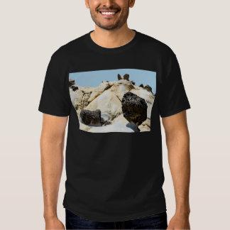 Morilla grande con el caracol y el ala Tafoni Camiseta