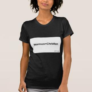 Mormon=Christian Camiseta