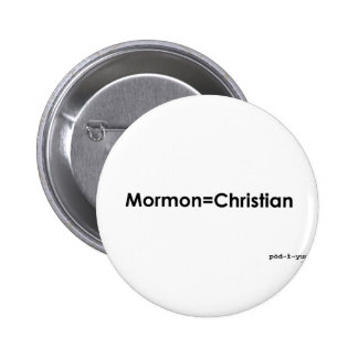 Mormon=Christian Pins