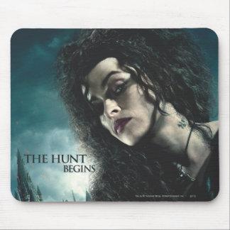 Mortal santifica - Bellatrix Lestrange 2 Alfombrilla De Ratón